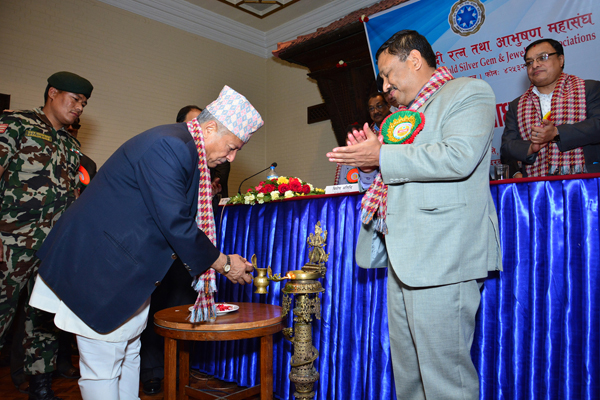 third agm inauguration inahonble mr. deepak bohora.jpg